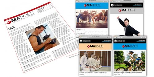 MA Times Student Newsletter - Print and Email(s)