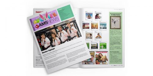 AMS News April Issue