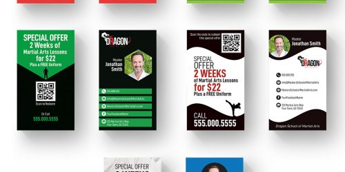 Business Cards Vertical