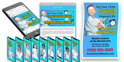 """""""Prepare for the New School Year"""" Child Ads"""