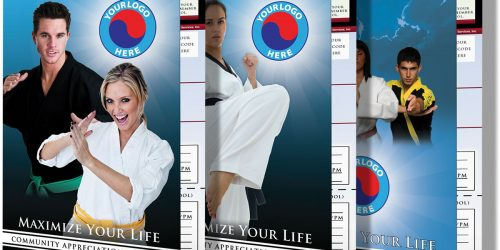 TKD-Karate Enrollment Card