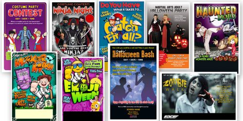 Halloween Party Promotion