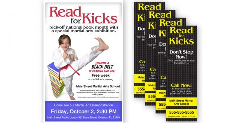 Reading Month/Read for Kicks