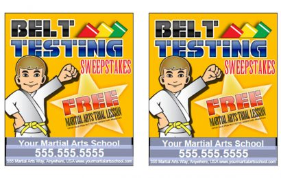 Belt Test Referral Promotion