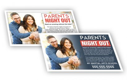 Parents' Night Out flyer