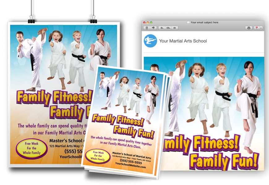 Family Fitness Ad