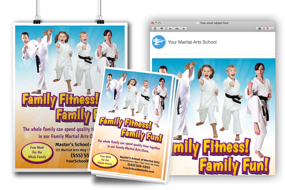 adult martial arts ad