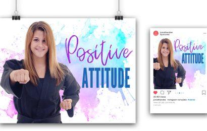 """Postive Attitude"" Poster Post"