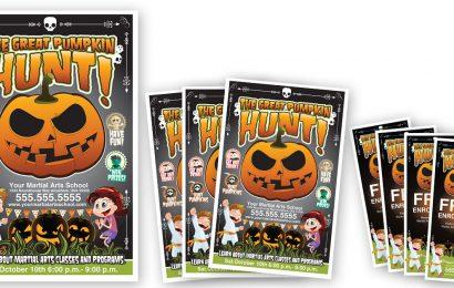Pumpkin Hunt Promotion