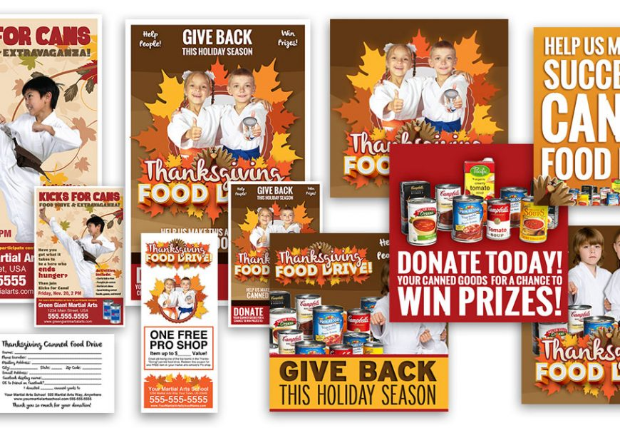 Food Drive Promotions