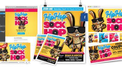 Hip-Hop Sock Hop Promotion