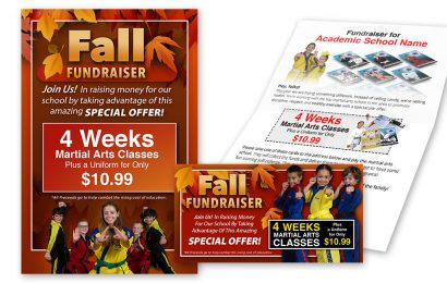 Fall Fundraiser Promotion