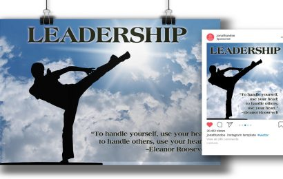 """Leadership"" Poster & Post"