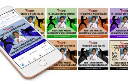 New Rank Social Media Frame